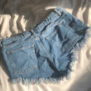 Topshop Shorts - topshop shorts